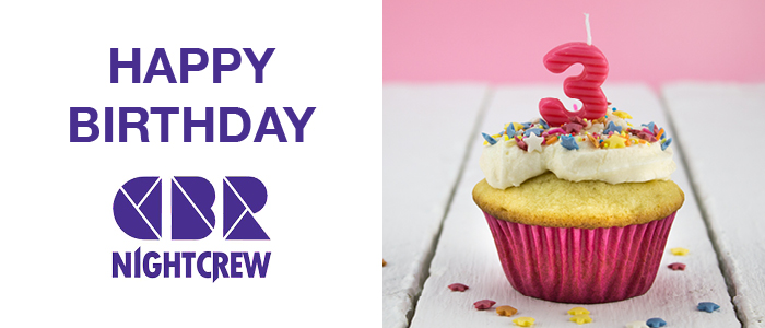 Happy 3rd Birthday CBR NightCrew