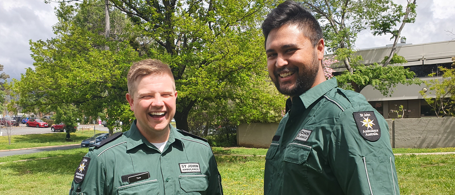 Tom and Jay share their story on Restart a Heart Day