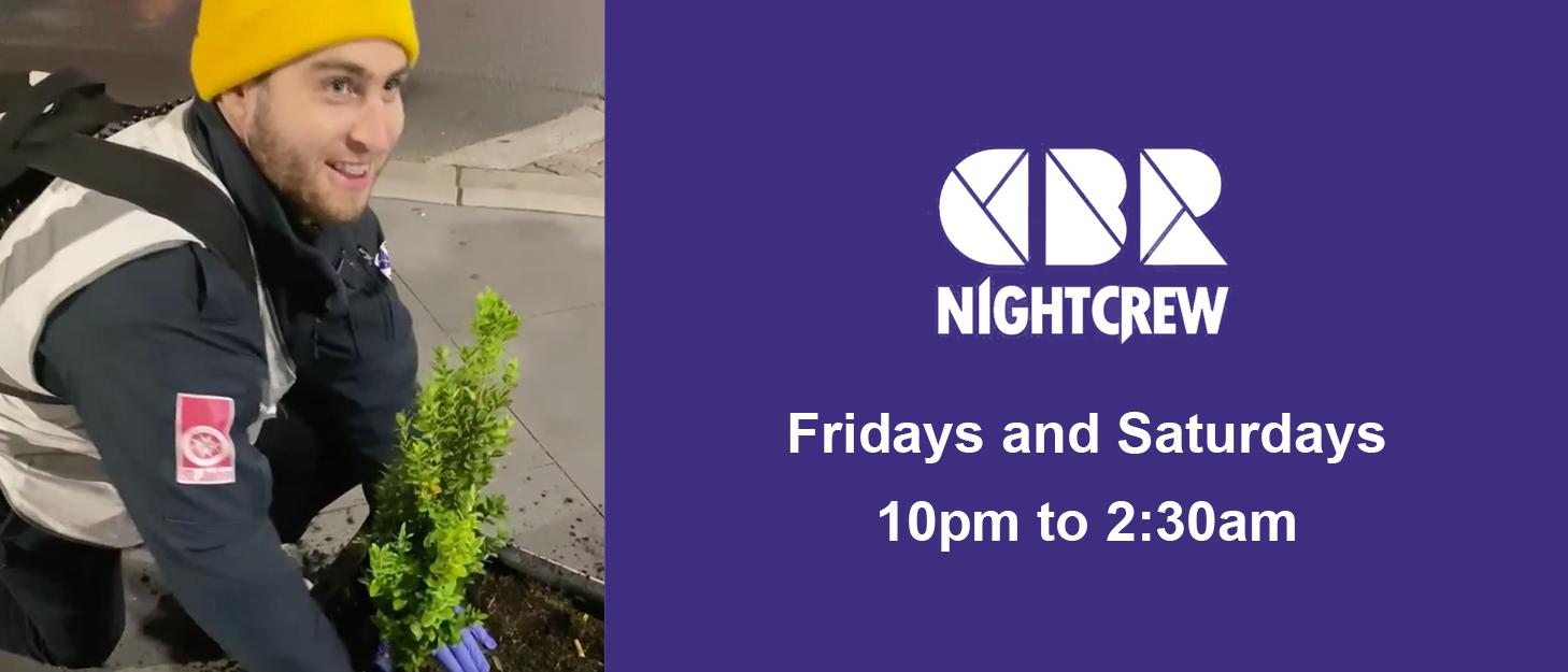 CBR NightCrew help plants too