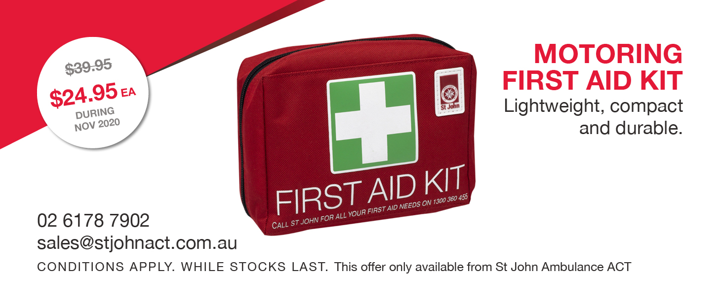 November 2020 Special: Motoring First Aid Kit