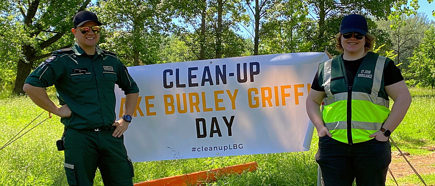 Clean-up Lake Burley Griffin Day 2020